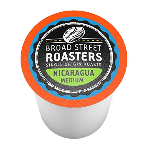 Broad Street Roasters Single Origin Coffee, Nicaragua, Compatible with 2.0 K-Cup Brewers, 40 Count