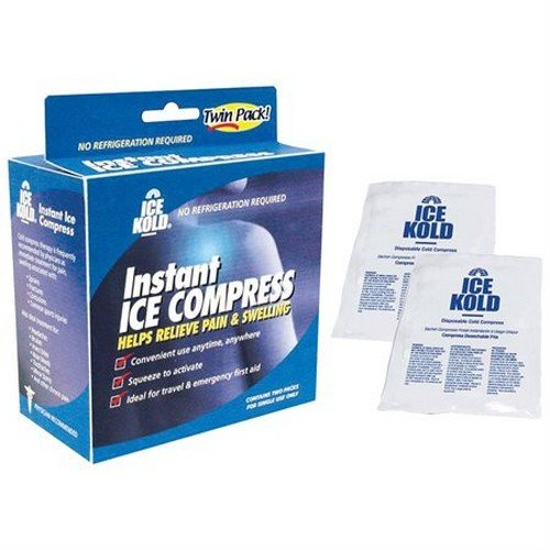 Ice Kold Instant Ice Compress Part No. 61200229724 MABIS DMI HEALTHCARE MMED-DUR61200229724 Case by Briggs (Image #1)