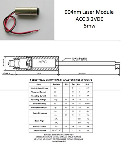 12x30mm laser module - 6