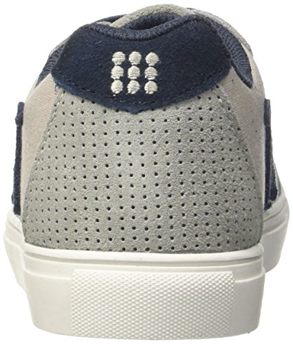 DrunknMunky Nashville Frequency, Zapatillas de Tenis para Niños Grigio (Dark Grey/Navy)