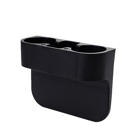 VORCOOL Portavasos, 2 PCS Negro Soporte Plástico Porta Botella Vaso Taza con Clip Portabebida Coche