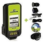 G-PORTER GP-102+ GPS- MULTIFUNKTIONSGERÄT (grün) MAXI SET mit Armband, USB Netzteil und KFZ-Adapter