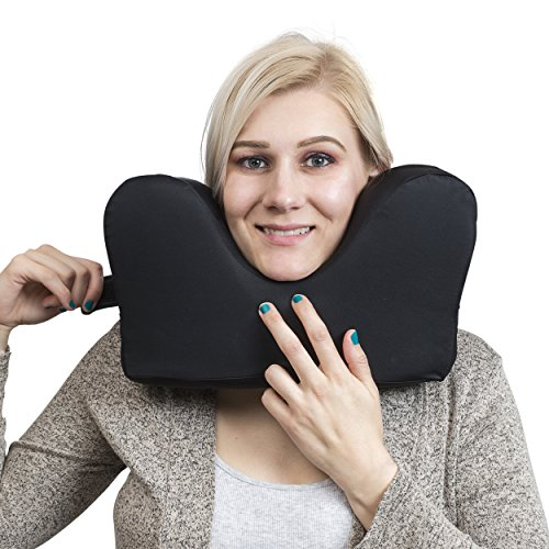 Best Travel Pillow For Aisle Seat - Knidos Travel Pillow for Restful Sleep