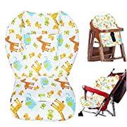 Twoworld Baby Stroller/Car/High Chair Seat Cushion Liner Mat Pad Cover Protector Animal Breathable