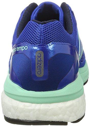 adidas Adizero Tempo, Zapatillas de Running para Hombre Multicolor (Blue/ntnavy/easgrn)