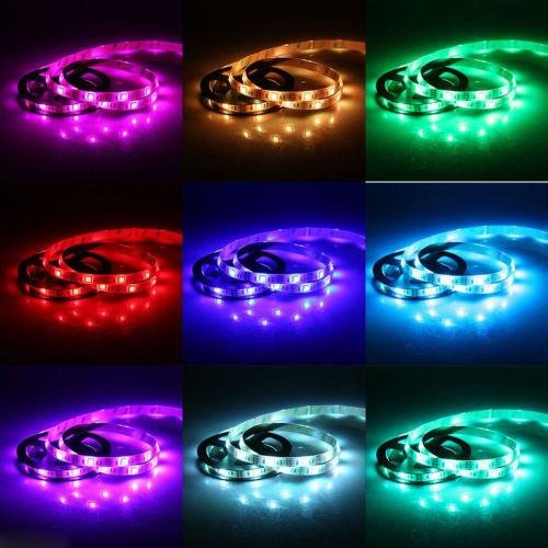 Nineteen Twenties Costumes (Halloween Costume LED Strip Accessory Light Kit 40 inches 20 Colors 19 Modes)