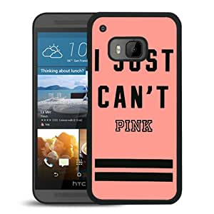 Hot Sale HTC ONE M9 Case ,Unique And Lovely Designed With Victoria's Secret Love Pink 49 in Black HTC ONE M9 Cover