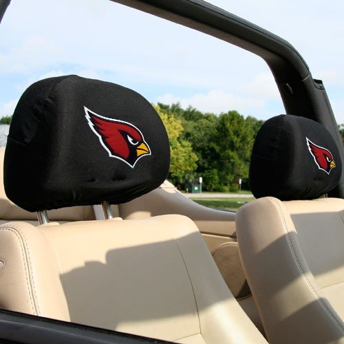 (NFL Arizona Cardinals 2-Pack Headrest Covers)