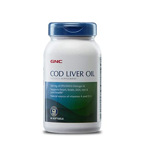 Buy GNC Triple Cod Liver Oil - 90 Softgels Online at Low Prices in India -  Amazon.in 84ced813658