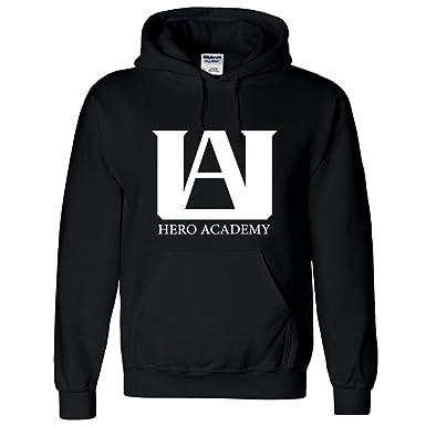 b35f98137d48 Amazon.com  NoveltyBoy UA High School Boku No Hero My Hero Academia Hoodie  Pullover Sweatshirt Costume Training Suit Jacket  Clothing
