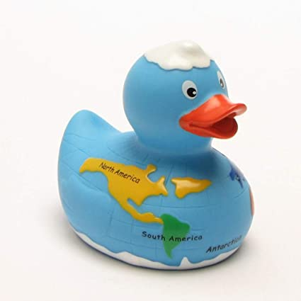 Rubber Duck Bath Duck Globe
