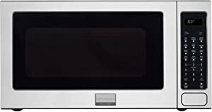 """Frigidaire FGMO205KF Gallery Series 24"""" 2.0 cu. ft. Capacity Built-In Microwave Oven 1200 Watts 3 Auto Cook Options Sensor Cook 7 User Preference Options and One-Touch Options in Stainless"""
