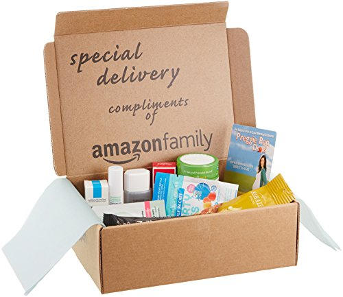 Maternity Sample Box, compliments of Amazon Fam...