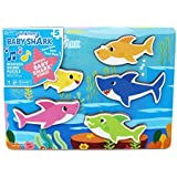 Cardinal Industries 6053347 Pinkfong Baby Shark Chunky Wooden Sound Puzzle - Plays The Baby Shark Song, Multicolor