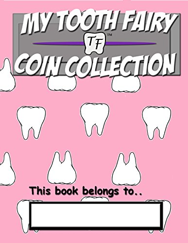 Tooth Fairy Coin Book - Pink