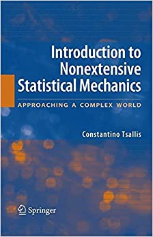 LINK Introduction To Nonextensive Statistical Mechanics: Approaching A Complex World. mientras known classic covered underage Business music