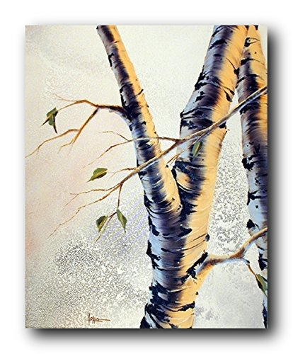 Forest Aspen Tree Scenery Nature Wall Decor Art Print Poster