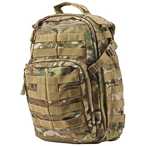 5.11 RUSH12 Tactical Backpack Med First Aid Patriot Bundle - Multicam