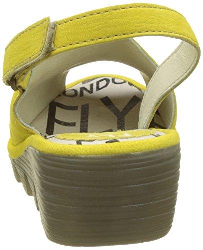 Femminile Sandali Giallo Palp814fly Volare Fionda Schiena limone London 4WZUqnU