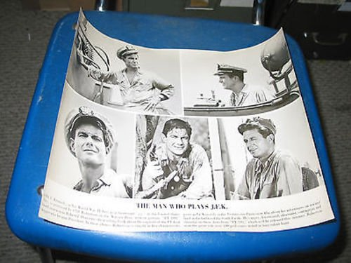 CLIFF ROBERTSON/P.T. 109/BOY ON A DOLPHIN/ORIG. 11X13 - Robertson On Stores
