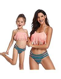 1d674c311c2 Ababalaya Big Girls Bikini 2 Pieces Swimwear Swimming Bathing Suit