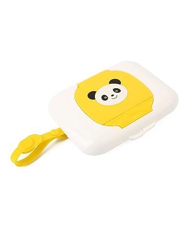 ZHONGYU - Caja de pañuelos portátil para bebé, diseño de pañuelos de viaje para niños