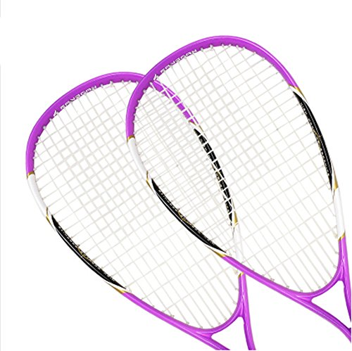 Élasticité élevée Durabilité Squash Racket meilleurs Squash Rackets (une paire)