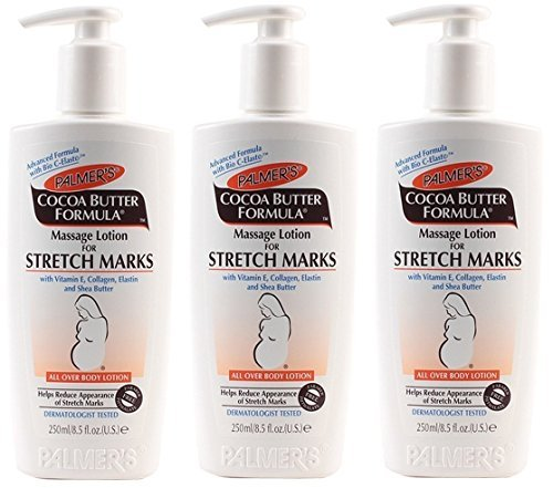 Palmer's Cocoa Butter Formula Massage Lotion for Stretch Marks, 8.5 Ounce, 3 Pack