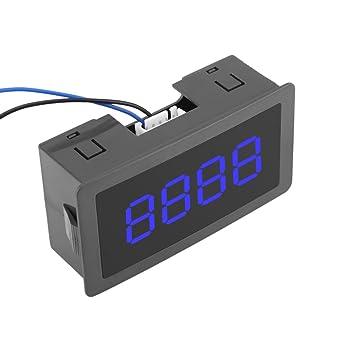 9999 arriba//abajo sensor de conmutador de Contador Digital Digital LED Azul 4-0