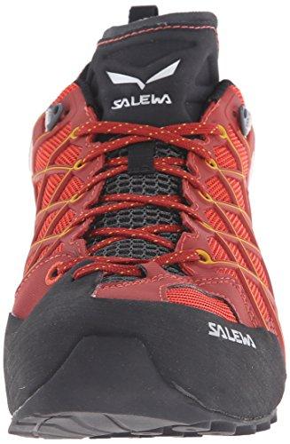 Salewa Wildfire S Gore-tex Halbschuh, Chaussures de Randonnée Basses homme, Rouge (Indio/nugget Gold 1610), 41 EU