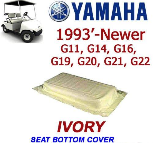Golf Clubs & Equipment Yamaha G11-G22 Golf Cart IVORY Seat Bottom Cover JN6-K8404