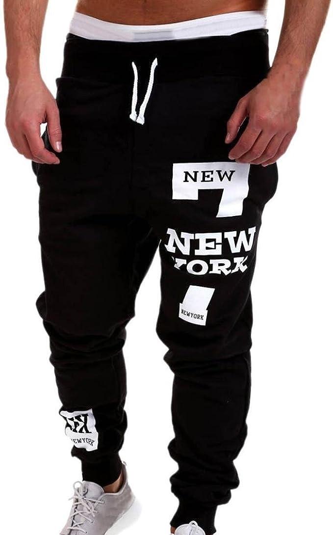 New Mens Sport Pants Loose Running Jogger Harem Yoga Casual Bottom Long Trousers
