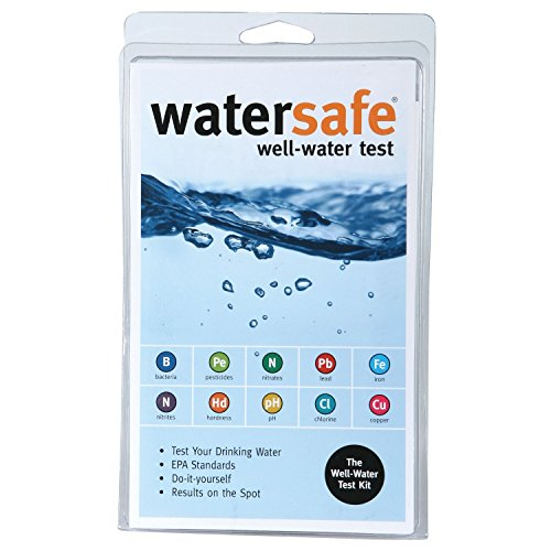 (3 X Watersafe WS425W Well Water Test Kit)