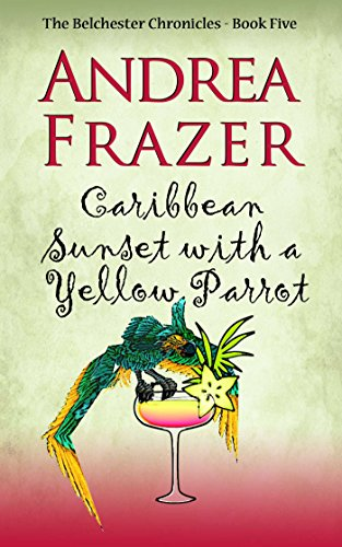 book cover of Caribbean Sunset with a Yellow Parrot