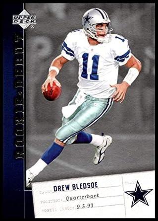 online store a2653 6c62d Amazon.com: 2006 Upper Deck Rookie Debut #28 Drew Bledsoe NM ...
