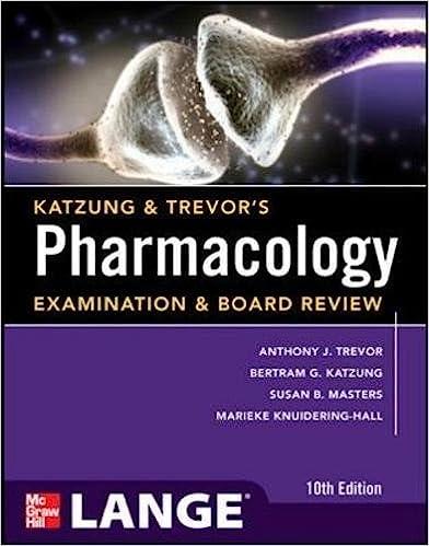 Katzung trevors pharmacology examination and board review 10th katzung trevors pharmacology examination and board review10th edition lange medical books 10th edition fandeluxe Choice Image