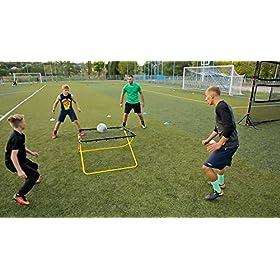 STOROSSO – Multisport Soccer Rebounder Net / Passing Trainer (Carry Bag Included)