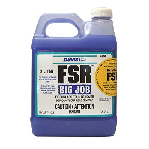 FSR Davis 792 Fiberglass Stain Remover - 2 Liters, 64. Fluid_Ounces ()