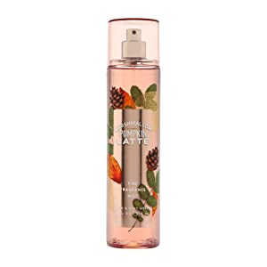 Bath & Body Works Marshmallow Pumpkin Latte Fine Fragrance Mist, 8 Ounce