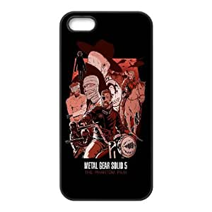 iPhone 5 5s Cell Phone Case Black Metal Gear Solid V - The Phantom Pain TR2469657