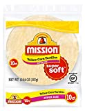 Mission Super Size Yellow Corn Tortillas, Gluten