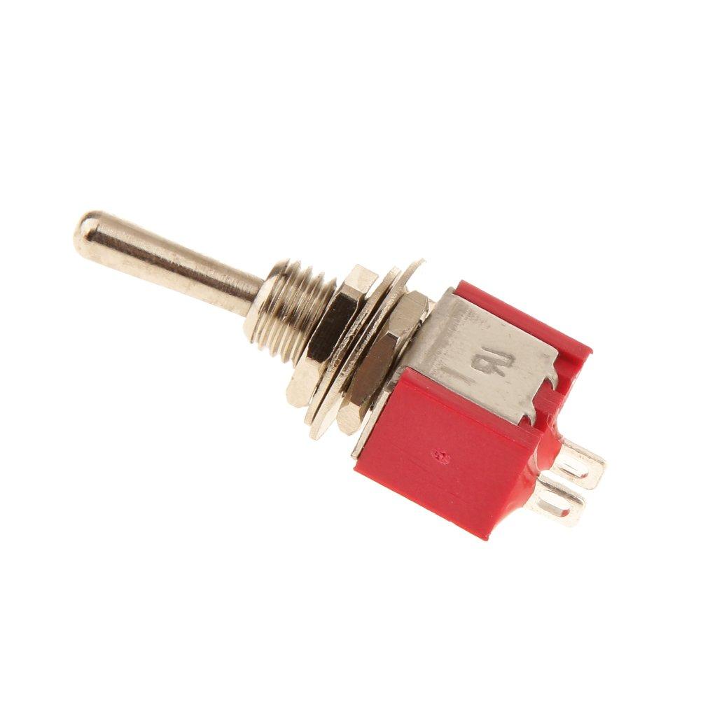 5 X On Off Mini Miniature Toggle Switch Model Railway Spst Generic Onoff