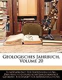 Geologisches Jahrbuch, Volume 10, Bundesanstalt Fr Bodenforschung and Bundesanstalt Für Bodenforschung, 1145710050