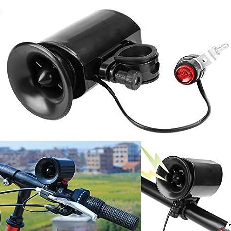 LHGS - Timbre eléctrico para Bicicleta, 6 Sonidos de Alarma ...