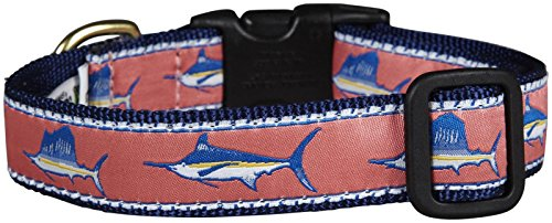 [Up Country Saltwater Fish Dog Collar - Large] (World Country Themed Costumes)