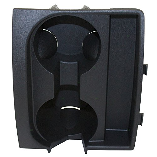 Front Center Console Cup Holder Drink Insert Liner Replacement for Jeep Commander Grand Cherokee 5143592AB