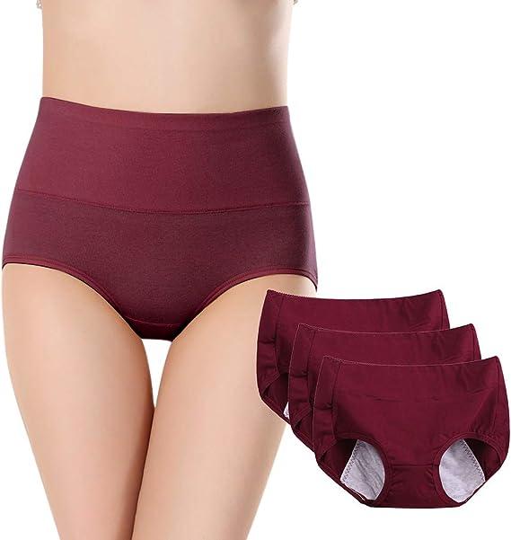 BOZEVON Periodo Menstrual Bragas - Bragas Menstruales del Período ...