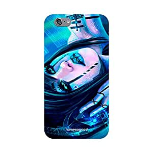 HomeSoGood DJ Humanoid Playing Music 3D Mobile Case For iPhone 6 (Back Cover)