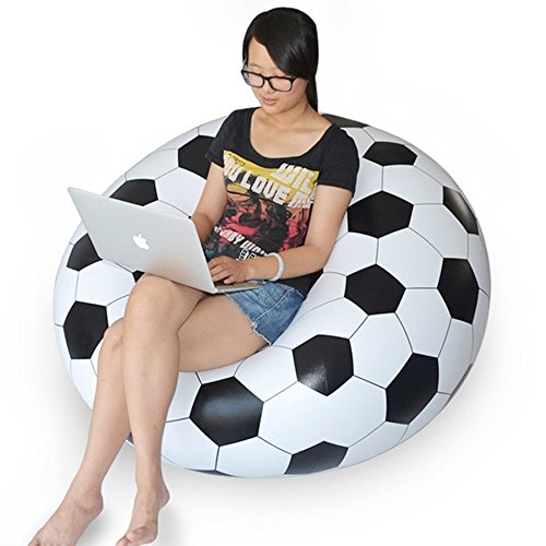 Inflatable Chair Sofa Bean Bags Ball Football Portable Living Room - Ray Bean Sunglasses