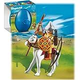 Playmobil 626075 - Huevo Guerrero Mongol Acaballo
